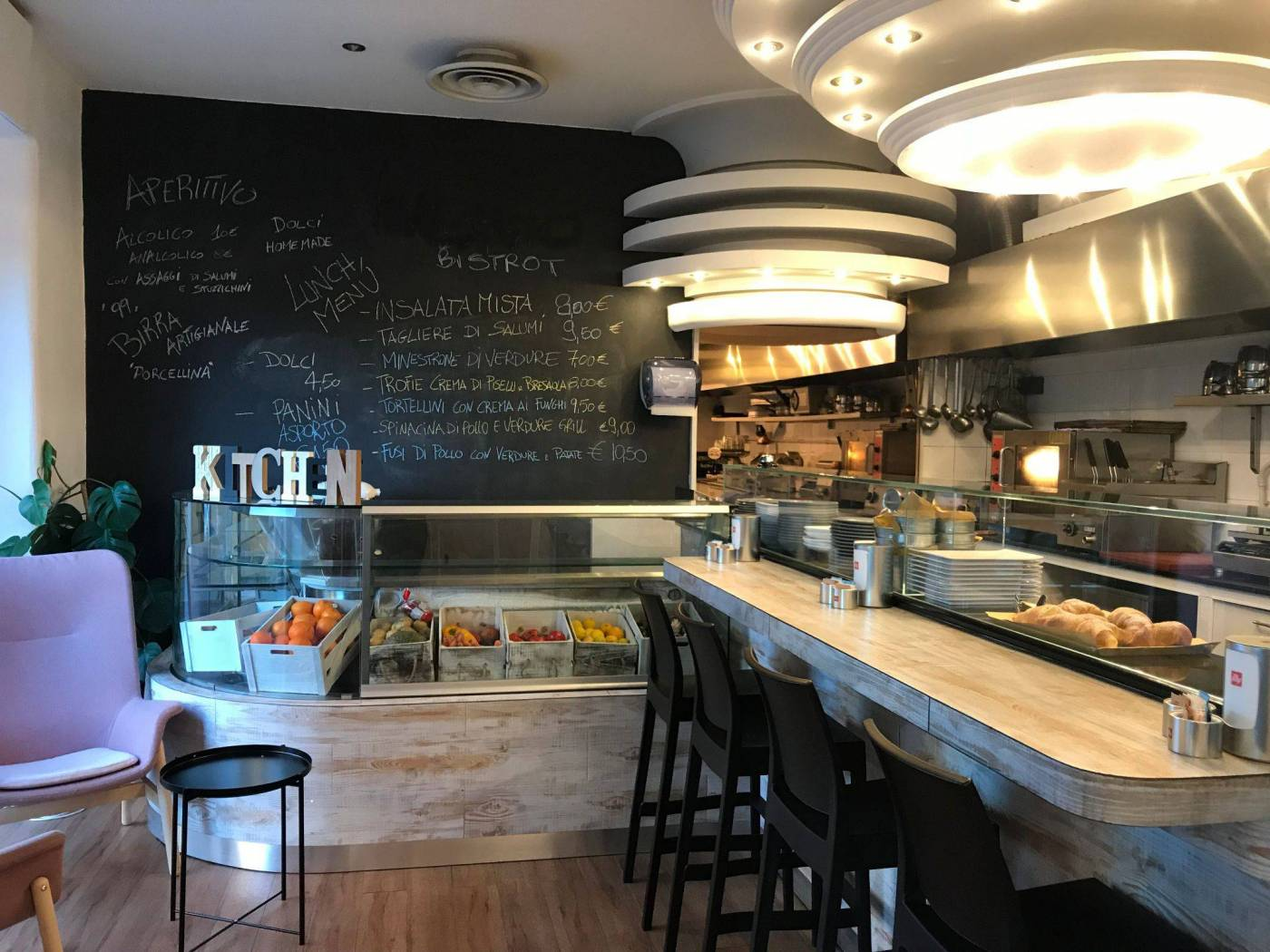 PAGANO – Raffinato ed elegante Bar Tavola fredda con Gastronomia